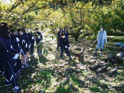 熊本県立菊池高等学校の生徒さんたちが研修にやってきました!(2020/前編)_a0254656_19303235.jpg