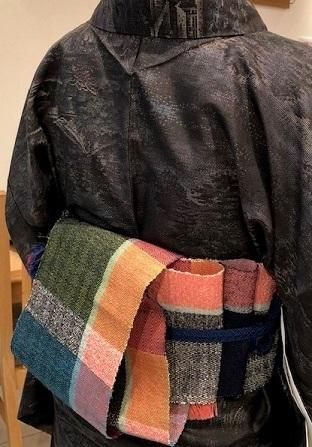 染織こうげい・神戸店さんでの作品展での嬉し過ぎる再会・其の3。_f0177373_18550147.jpg