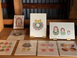 ヒトヤ堂のカード...I\'hiver_b0241386_09174400.jpg