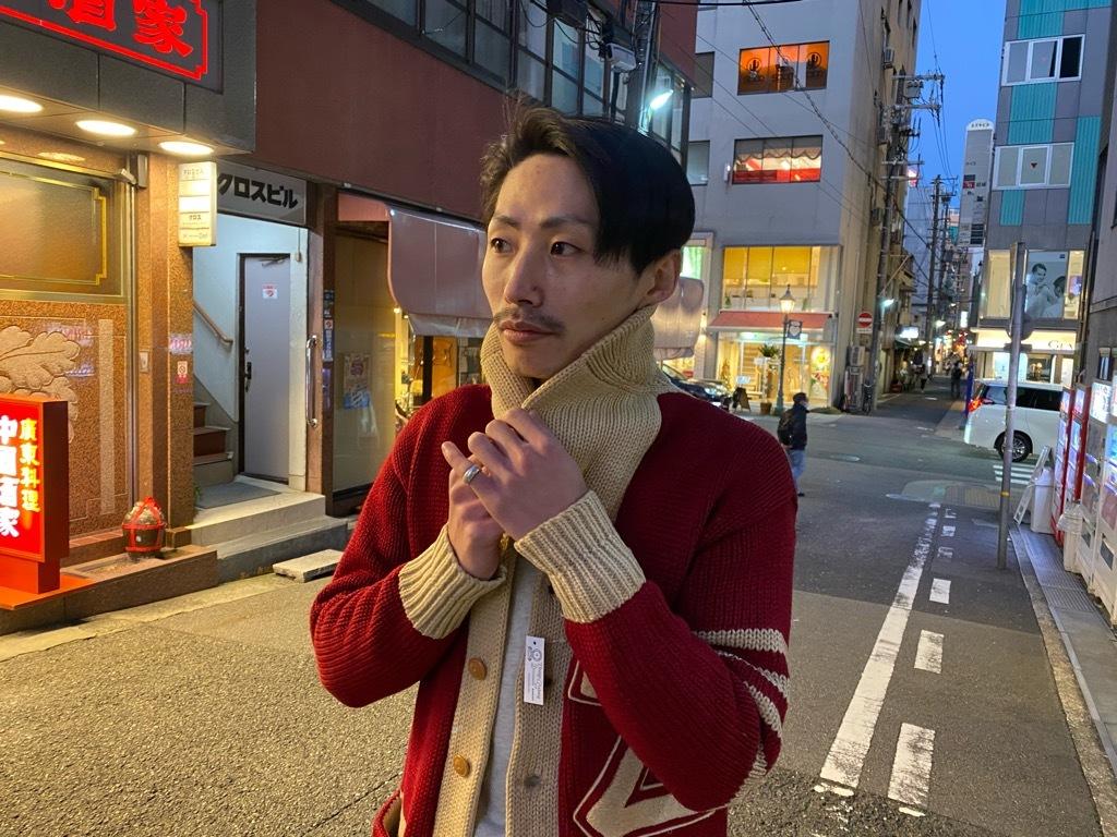 マグネッツ神戸店 11/11(水)Vintage入荷! #5 Letterman Cardigan!!!_c0078587_17382834.jpg
