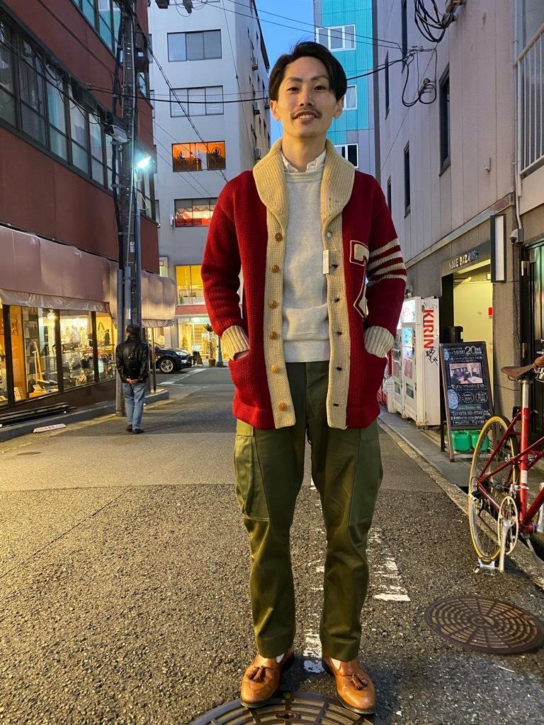 マグネッツ神戸店 11/11(水)Vintage入荷! #5 Letterman Cardigan!!!_c0078587_17382851.jpg