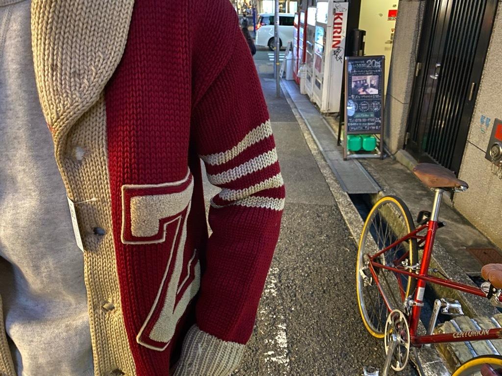 マグネッツ神戸店 11/11(水)Vintage入荷! #5 Letterman Cardigan!!!_c0078587_17382872.jpg
