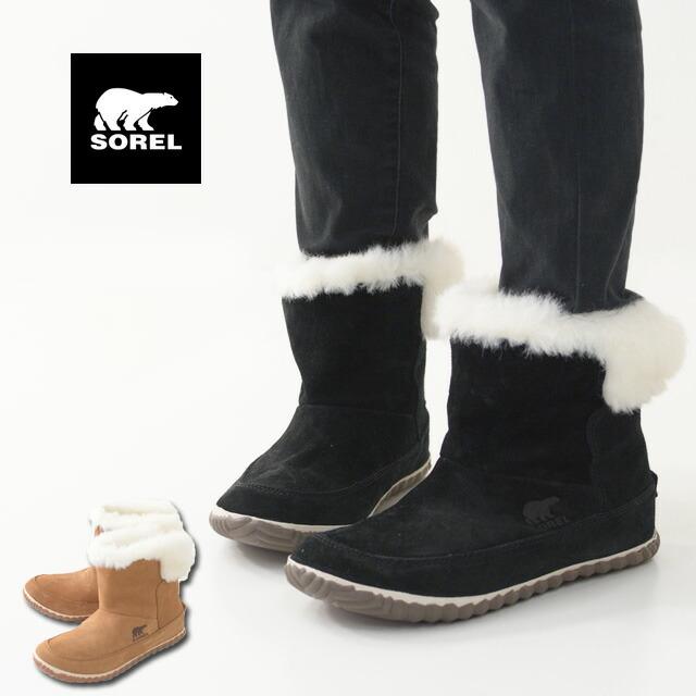 SOREL [ソレル正規代理店] Out N About Bootie[NL3073] アウトアンドアバウトブーティー / ショートブーツ・LADY\'S_f0051306_16380808.jpg
