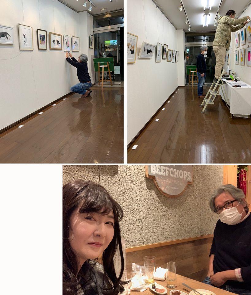 【村上ゆたか☆猫の水彩画展スタートします(*≧∀≦*) 】_e0115223_04023035.jpg