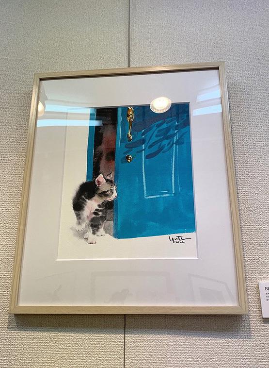 【村上ゆたか☆猫の水彩画展スタートします(*≧∀≦*) 】_e0115223_04034172.jpg