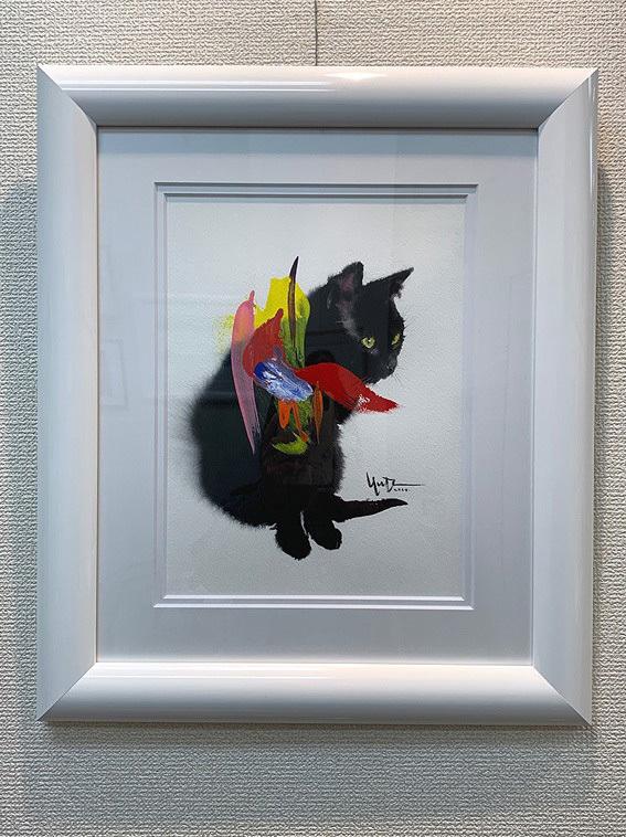 【村上ゆたか☆猫の水彩画展スタートします(*≧∀≦*) 】_e0115223_04034671.jpg