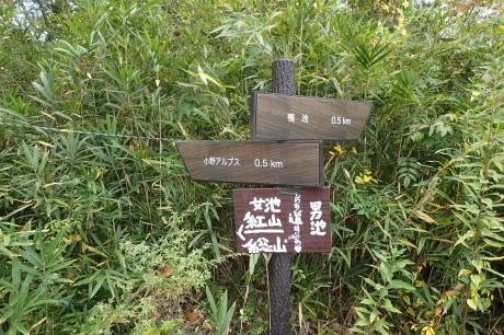 スリル満点 小野アルプス 『紅山』岩登り_c0218841_14341558.jpg