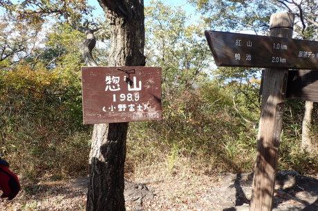 スリル満点 小野アルプス 『紅山』岩登り_c0218841_14430387.jpg