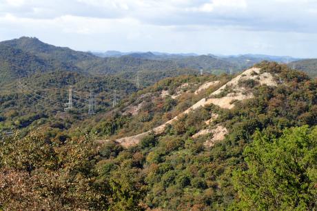 スリル満点 小野アルプス 『紅山』岩登り_c0218841_14441802.jpg