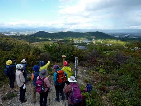 スリル満点 小野アルプス 『紅山』岩登り_c0218841_14460344.jpg