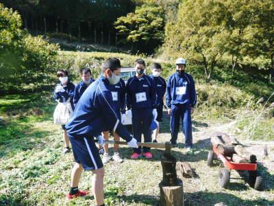 熊本県立菊池高等学校の生徒さんたちが研修にやってきました!(2020/後編)_a0254656_18344041.jpg