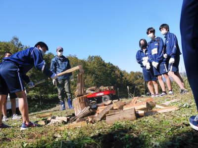 熊本県立菊池高等学校の生徒さんたちが研修にやってきました!(2020/後編)_a0254656_18510711.jpg