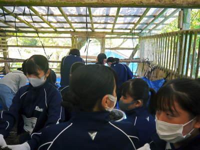 熊本県立菊池高等学校の生徒さんたちが研修にやってきました!(2020/後編)_a0254656_19260585.jpg