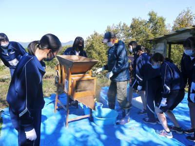 熊本県立菊池高等学校の生徒さんたちが研修にやってきました!(2020/後編)_a0254656_19343152.jpg