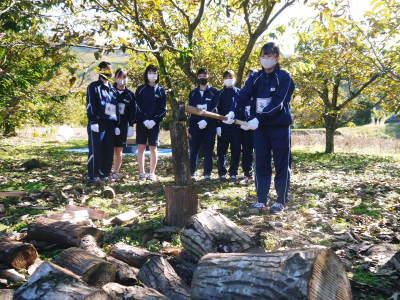 熊本県立菊池高等学校の生徒さんたちが研修にやってきました!(2020/後編)_a0254656_20035095.jpg