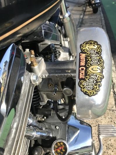 For sale motorcycle. 1991FXLR._d0149307_14382257.jpeg