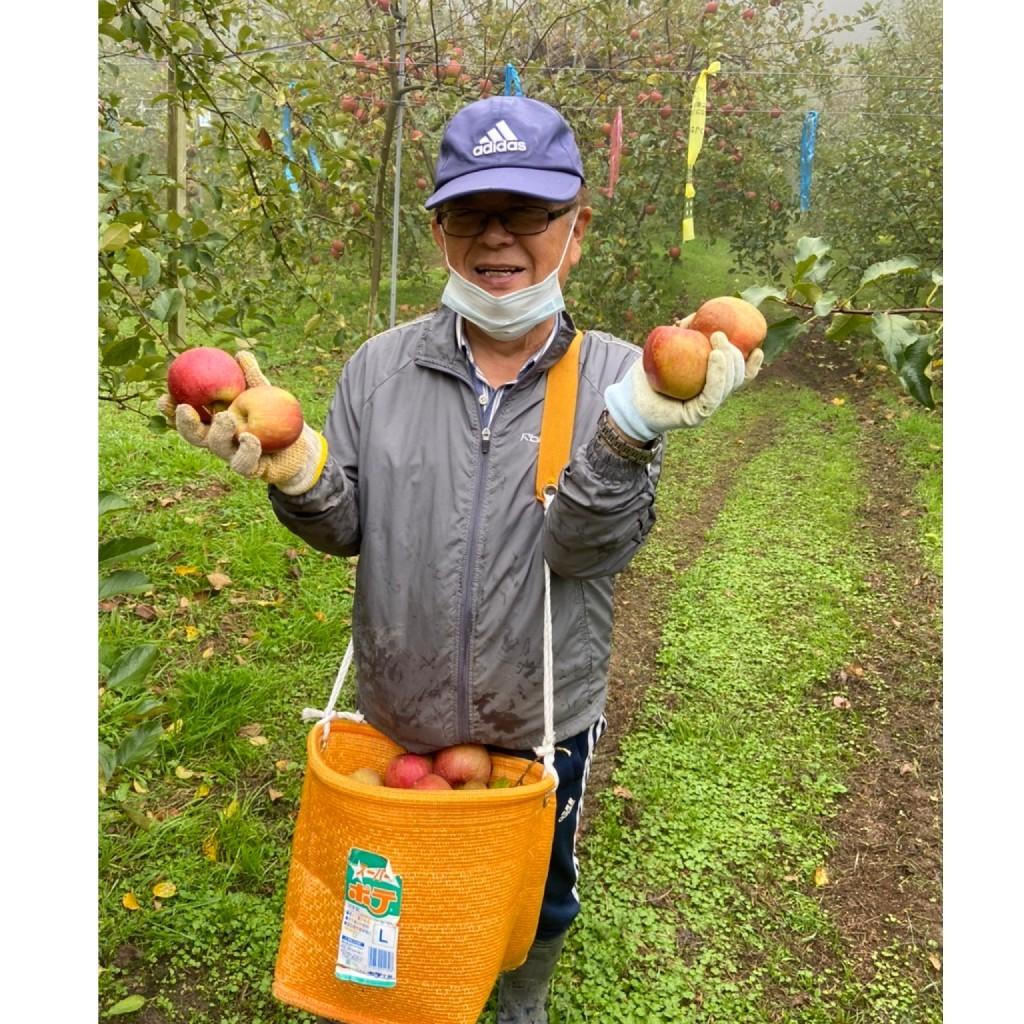 ☆りんご狩りと卵かけごはん☆_a0378416_23203357.jpg