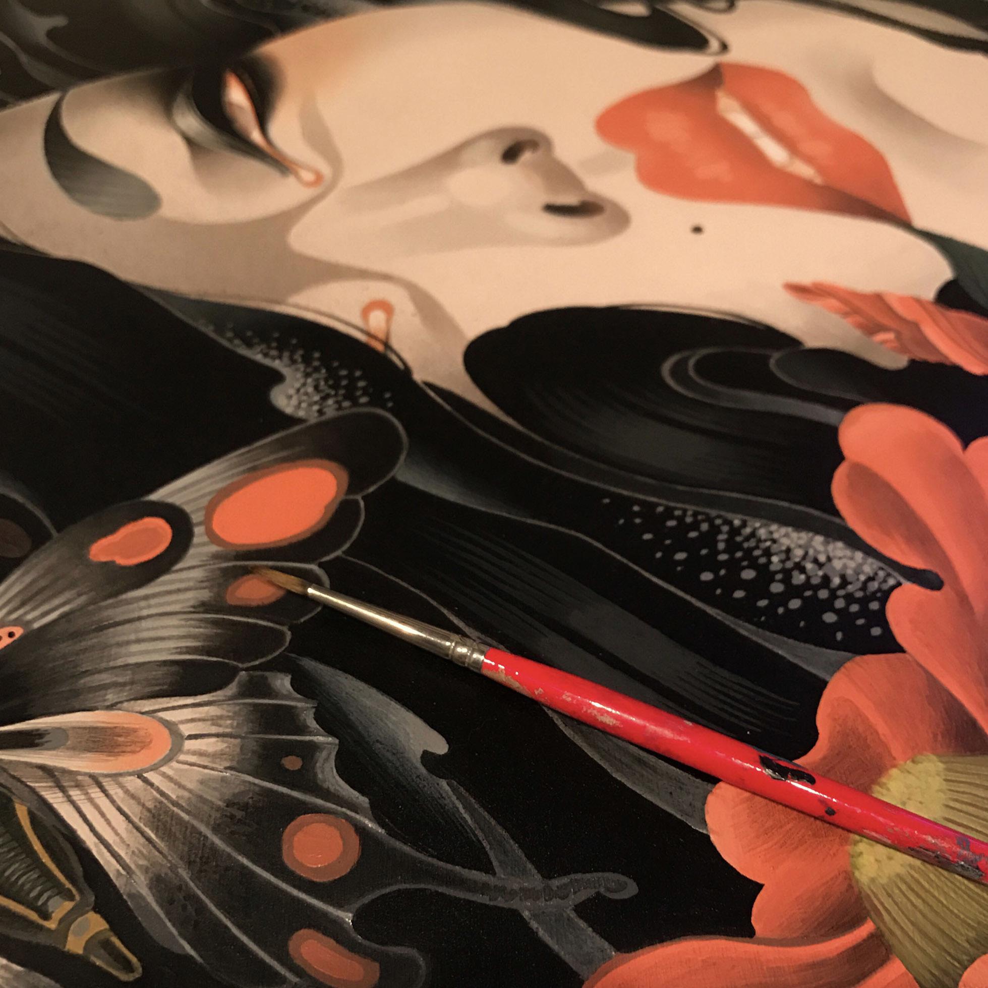 "7th \""ART COLLECTOR STARTER KIT\"" group exhibition-\""Karuta\""_b0126644_15025029.jpg"