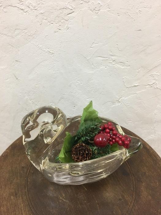 スワン ガラス花瓶_f0196455_13292525.jpeg