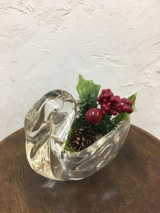 スワン ガラス花瓶_f0196455_13294120.jpeg