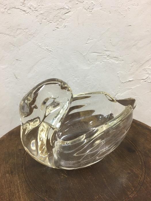 スワン ガラス花瓶_f0196455_13300268.jpeg