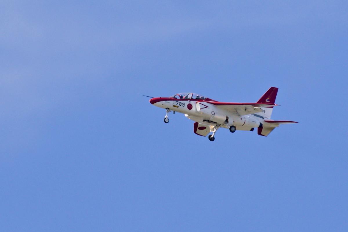 飛行訓練中の自衛隊機_e0071967_14542501.jpg