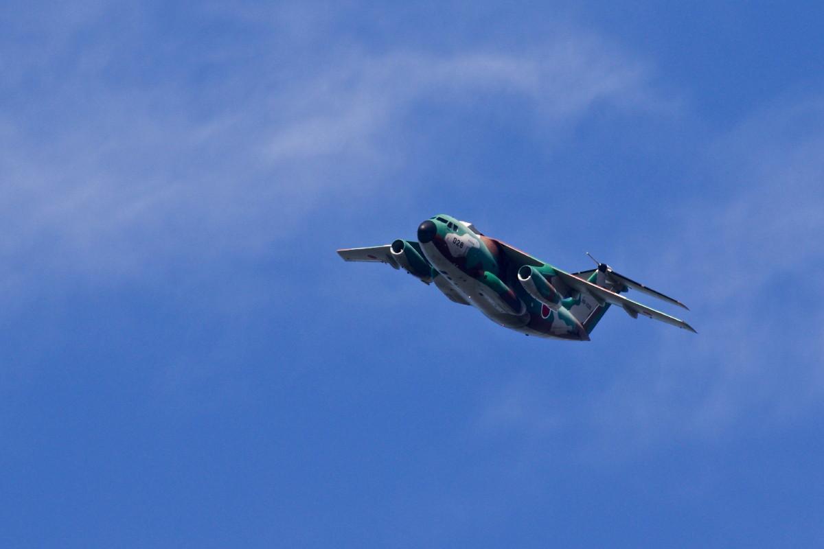 飛行訓練中の自衛隊機_e0071967_14543751.jpg