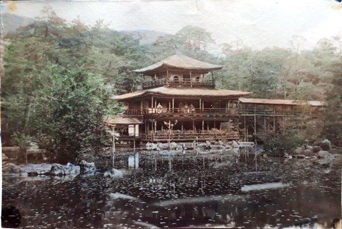 【金閣寺あれこれ】なぞの二階入廊下、三階茶席は可能だったか、戦前既に建物疲弊してた_b0116271_14444894.jpg