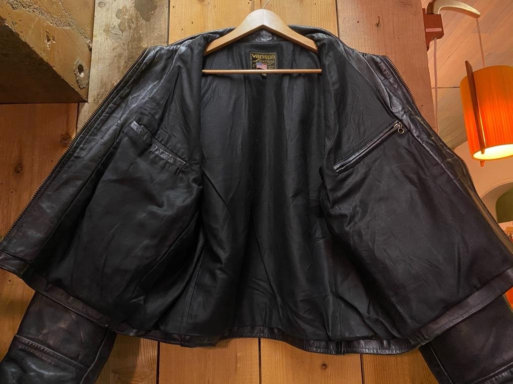 11月14日(土)マグネッツ大阪店スーペリア入荷日!!#2 Leather編!! SingleRiders,Vanson,BANANA REPUBRIC,RobertLewis!!_c0078587_16144426.jpg