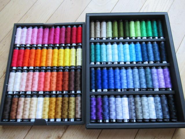 Fabric Selection キット MIRO刺繍糸セット入荷_c0086102_23225563.jpg