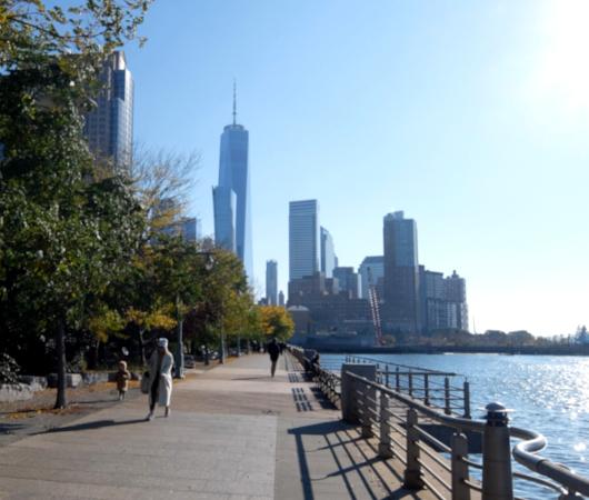 コロナ禍のNYにオープンした最新水上公園ピア26(Pier 26)へ、ハドソン川公園沿いをお散歩_b0007805_03355254.jpg