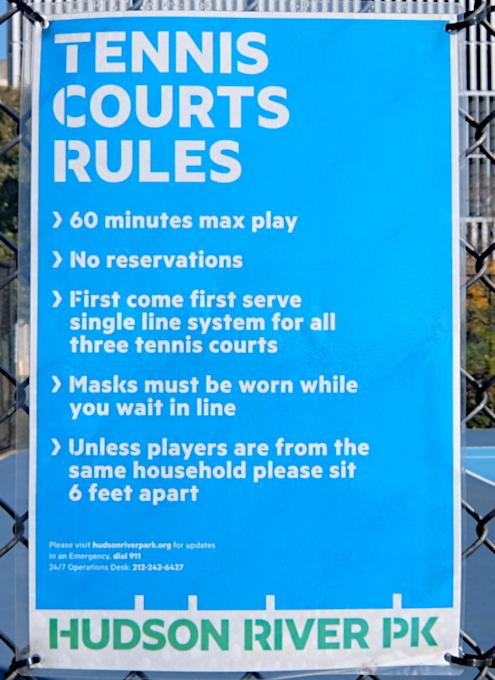 無料で使えるテニスやバスケのコート@ハドソン・リバー・パーク_b0007805_05290107.jpg