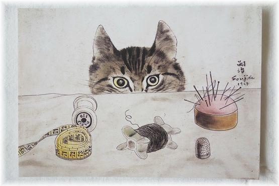 猫のポストカード_d0387712_22282407.jpg