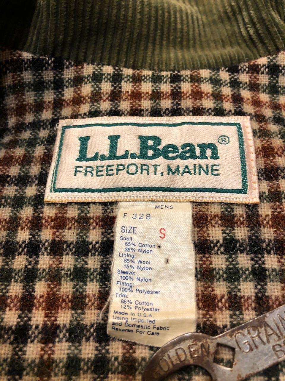 11月13日(金)入荷!80s MADE IN U.S.A  L.L Bean OILED COAT オイルドコート!_c0144020_16220502.jpg