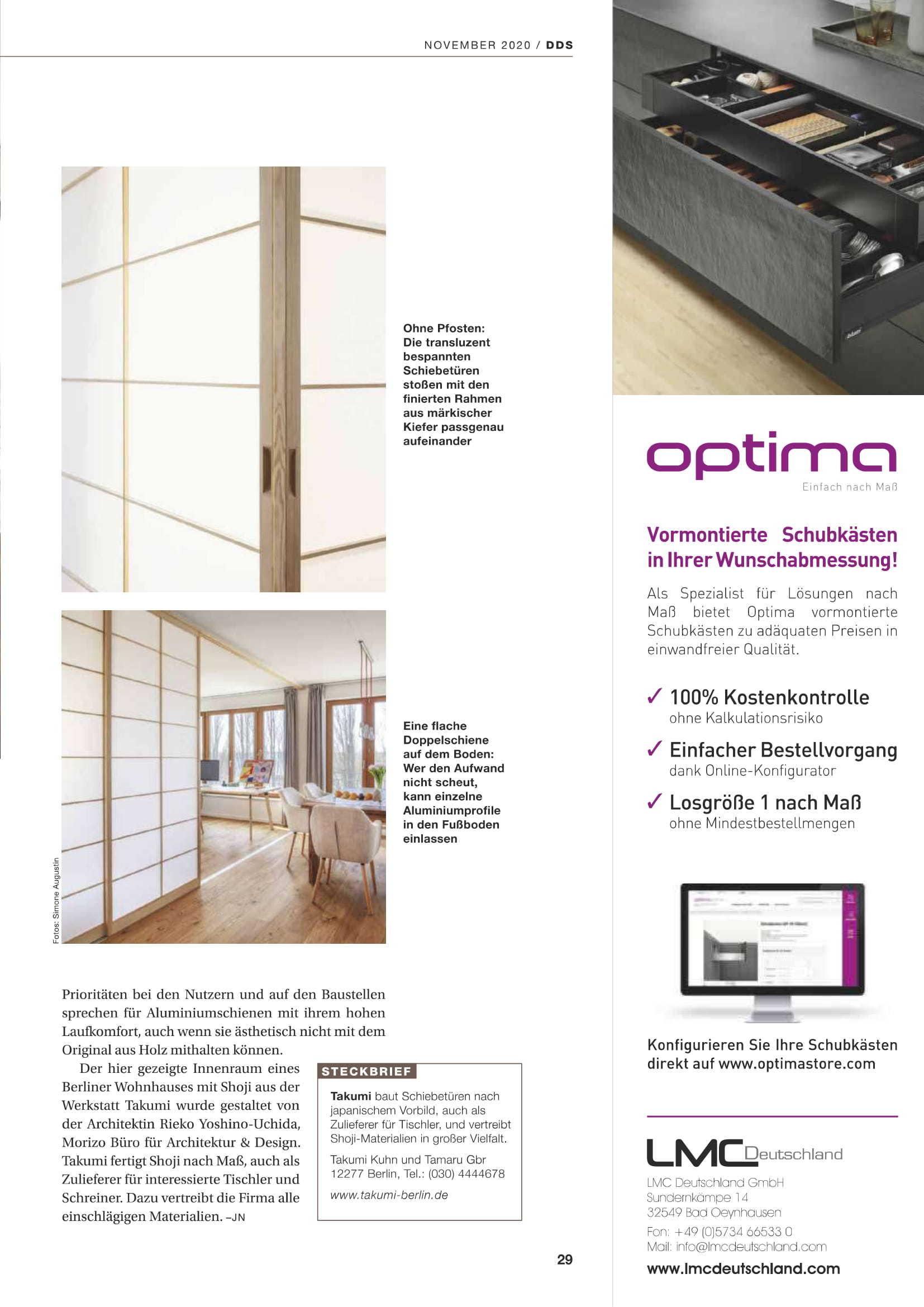 ドイツの雑誌に掲載されました。_a0355629_21573558.jpg
