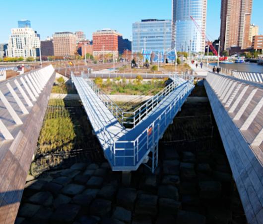 コロナ禍のNYにオープンした最新水上公園ピア26(Pier 26)をバーチャルお散歩_b0007805_06131645.jpg