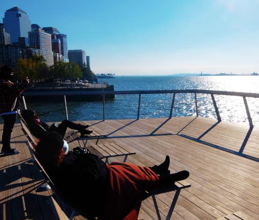 コロナ禍のNYにオープンした最新水上公園ピア26(Pier 26)をバーチャルお散歩_b0007805_06141599.jpg
