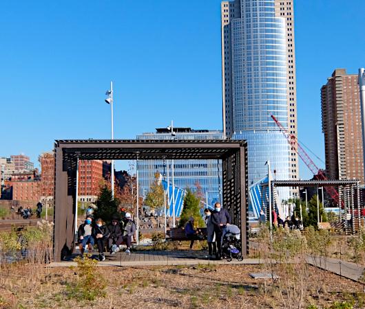 コロナ禍のNYにオープンした最新水上公園ピア26(Pier 26)をバーチャルお散歩_b0007805_06174093.jpg
