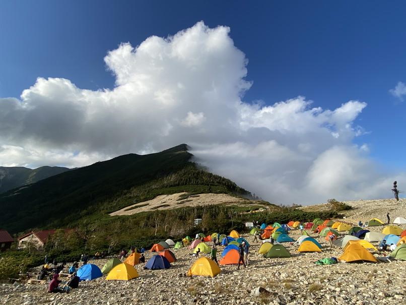 """2020年9月 『北アルプス常念山脈』 September 2020 \""""Mt Jonen in Japan Alps\""""_c0219616_12434248.jpg"""