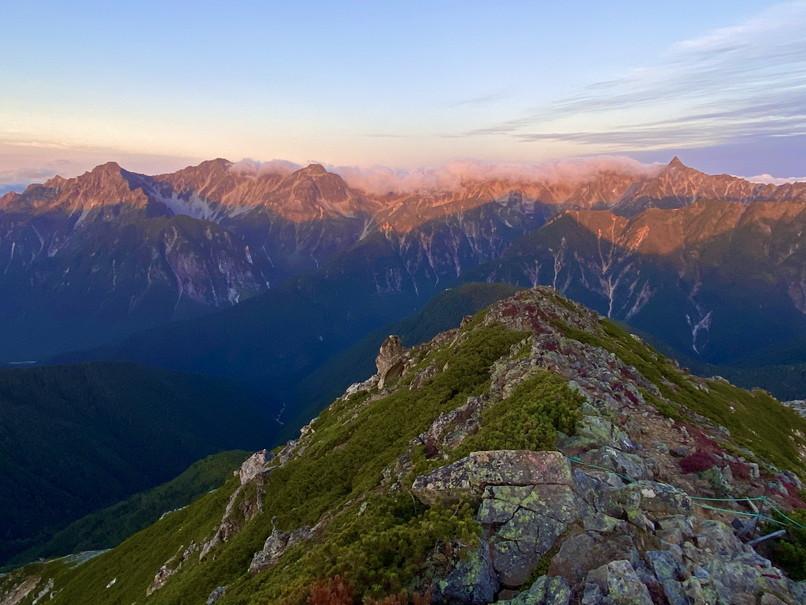 """2020年9月 『北アルプス常念山脈』 September 2020 \""""Mt Jonen in Japan Alps\""""_c0219616_12484767.jpg"""