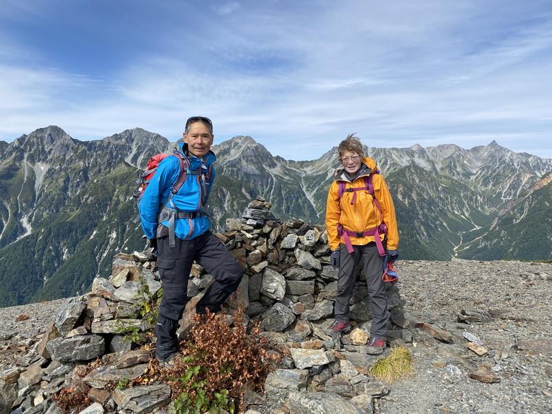 """2020年9月 『北アルプス常念山脈』 September 2020 \""""Mt Jonen in Japan Alps\""""_c0219616_12540307.jpg"""