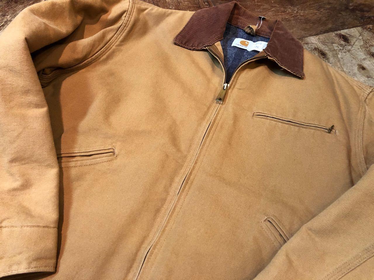 11月14日(土)入荷!80s〜MADE IN U.S.A  CARHARTT カーハート  デトロイトジャケット!_c0144020_13350316.jpg