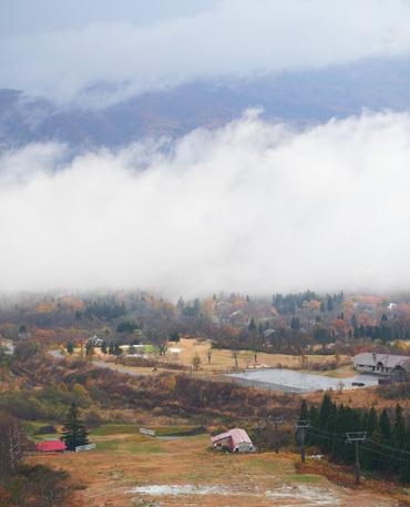 紅葉と雪と雲海と_b0086273_16211804.jpg