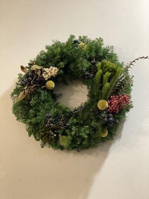 Un Jour クリスマスの花あそび 2020_b0241386_11410132.jpg