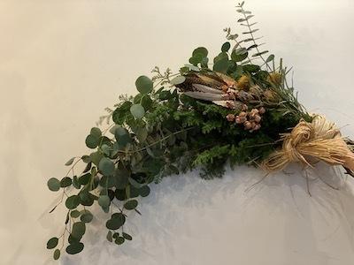 Un Jour クリスマスの花あそび 2020_b0241386_11411755.jpg