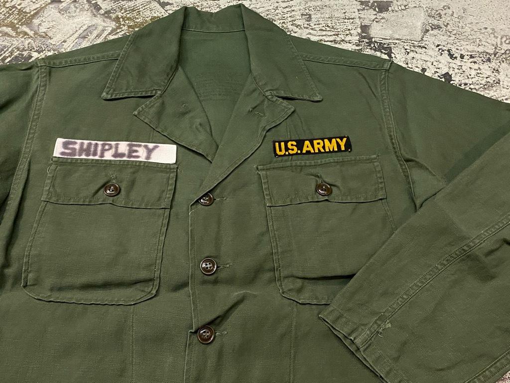 11月14日(土)マグネッツ大阪店スーペリア入荷日!!#7 U.S.Army Part1編!! 1950\'s~70\'s OG107 UtilityShirt!!_c0078587_12435551.jpg