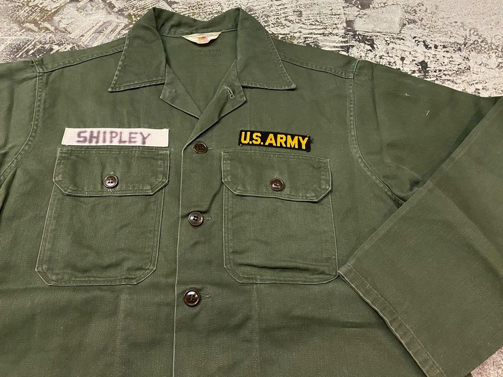 11月14日(土)マグネッツ大阪店スーペリア入荷日!!#7 U.S.Army Part1編!! 1950\'s~70\'s OG107 UtilityShirt!!_c0078587_12440316.jpg