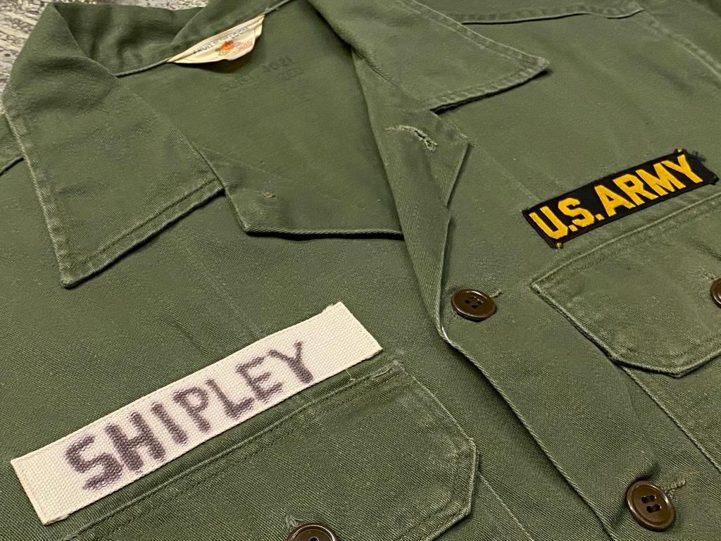 11月14日(土)マグネッツ大阪店スーペリア入荷日!!#7 U.S.Army Part1編!! 1950\'s~70\'s OG107 UtilityShirt!!_c0078587_12440691.jpg