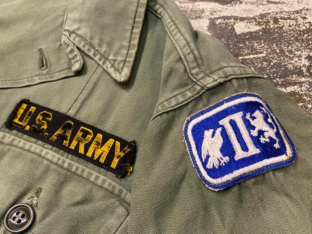 11月14日(土)マグネッツ大阪店スーペリア入荷日!!#7 U.S.Army Part1編!! 1950\'s~70\'s OG107 UtilityShirt!!_c0078587_12450468.jpg