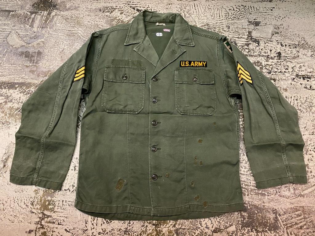 11月14日(土)マグネッツ大阪店スーペリア入荷日!!#7 U.S.Army Part1編!! 1950\'s~70\'s OG107 UtilityShirt!!_c0078587_12450856.jpg